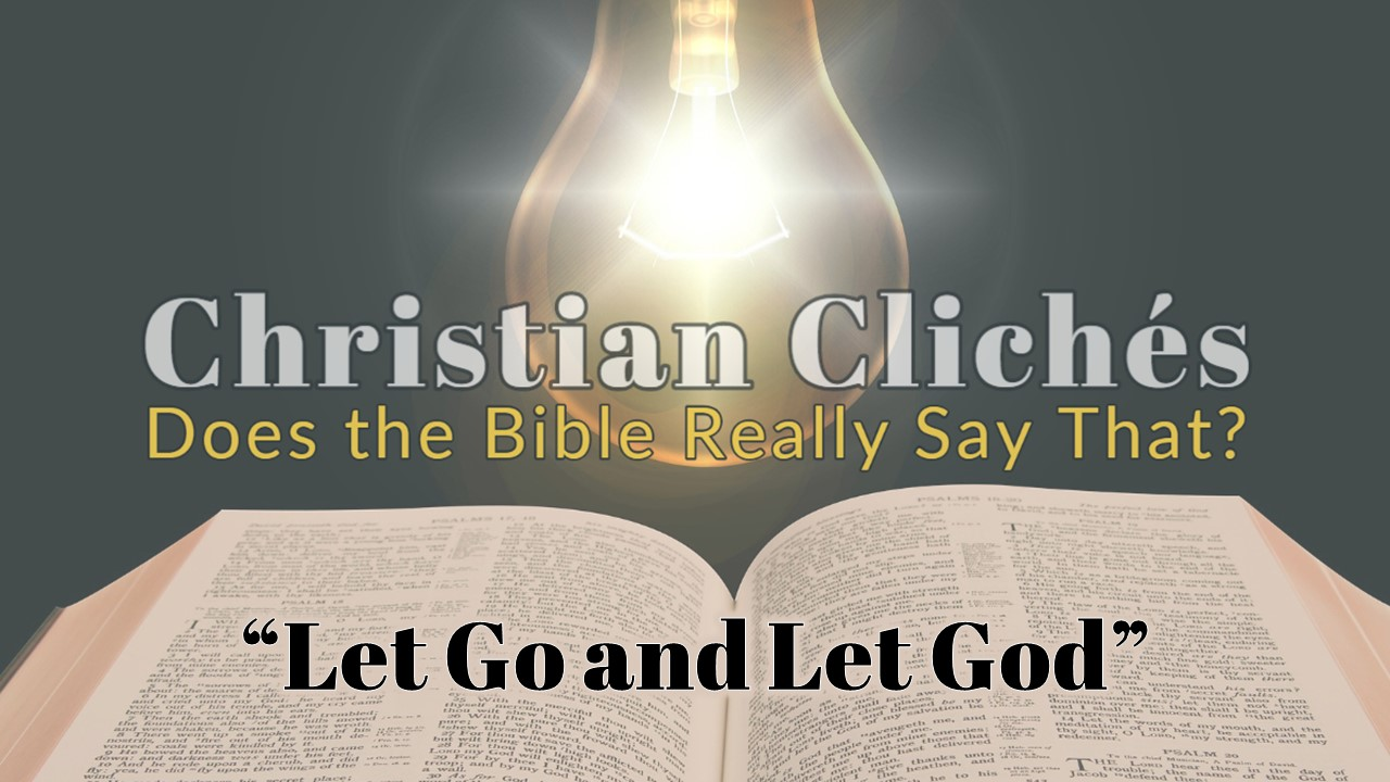 Christian Cliches Title Slide