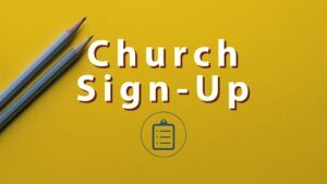 Church Sign-Up