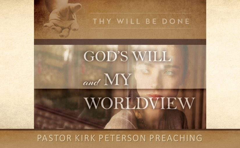 God's Will and My Worldview