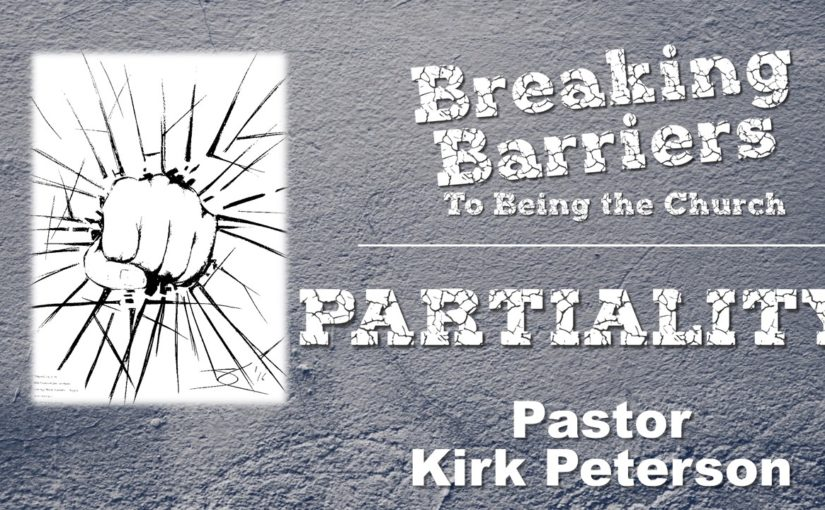 Breaking the Barrier of Partiality May 13, 2018