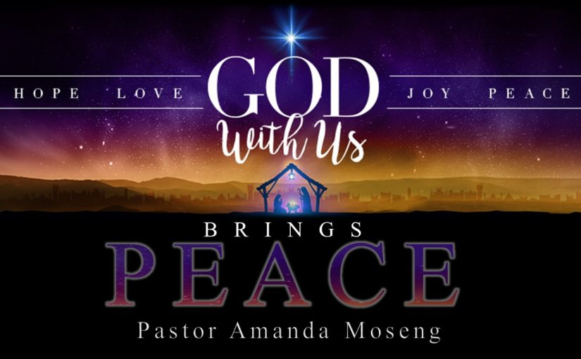 God With Us Brings Peace - Advent