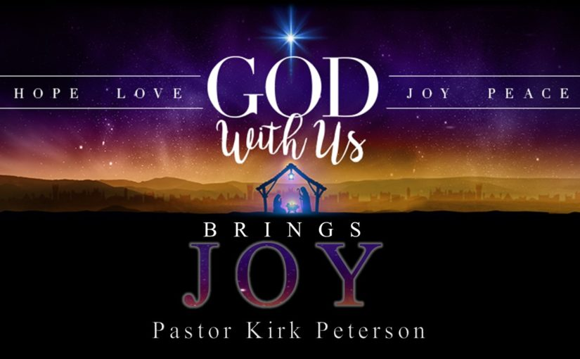 God With Us Brings Joy- Advent