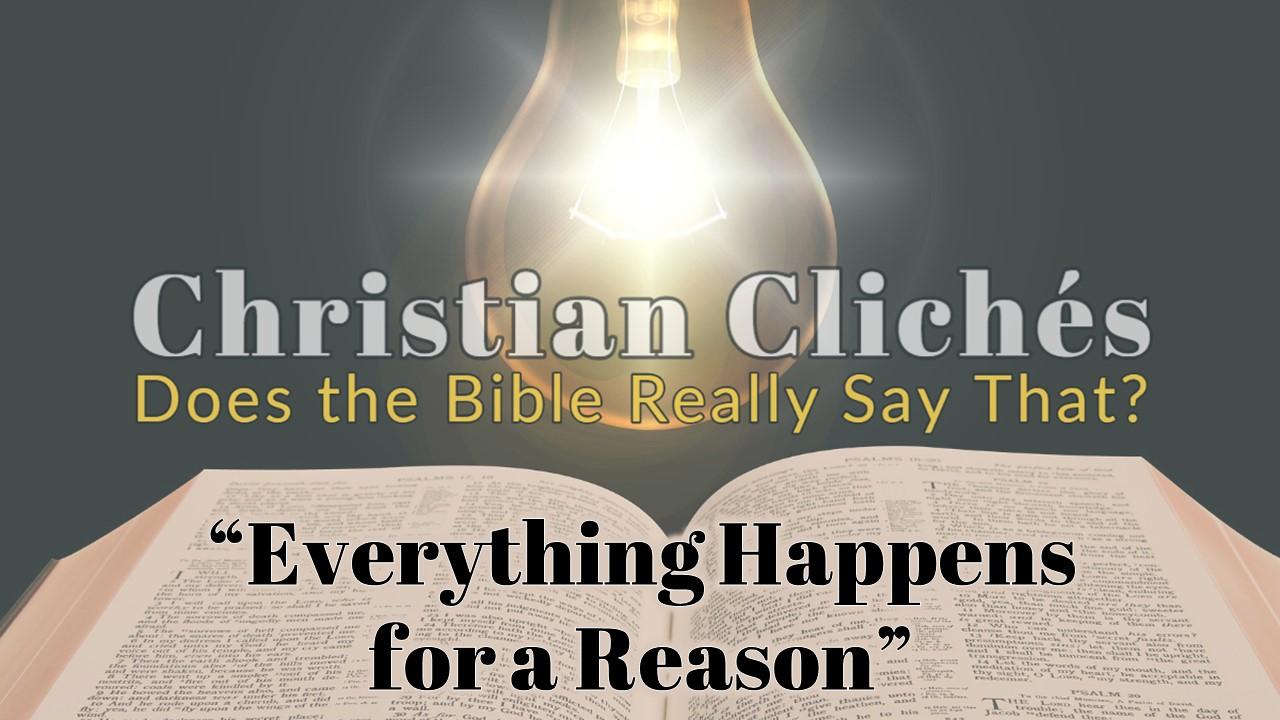 Christian Cliches Title Slide