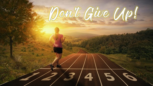 Sermon Series Title: Don't Give Up