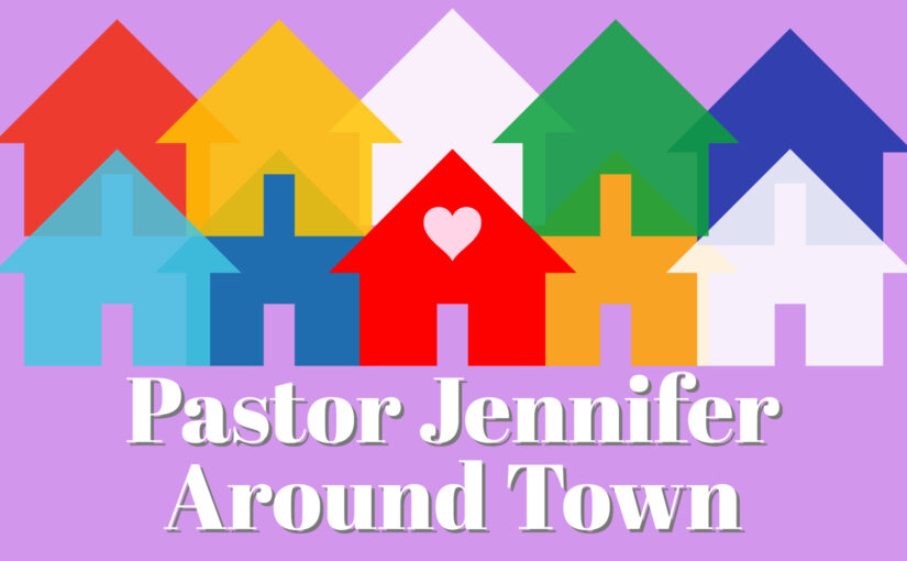 Pastor Jennifer Around Town