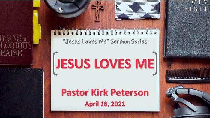 Jesus Loves Me: Jesus Loves Me, Week 2